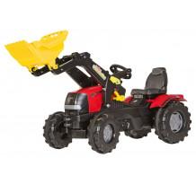 611065 - Tractor cu pedale Rolly Toys, Case Puma CVX 240 cu incarcator frontal