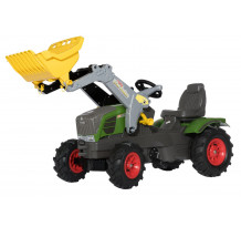Tractor cu pedale Rolly Toys, Fendt 211 Vario cu anvelope pneumatice