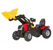 Tractor cu pedale Rolly Toys, Case Puma CVX 240 cu anvelope pneumatice