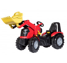 Tractor cu pedale Rolly Toys, X-Trac Premium cu incarcator frontal