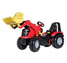 Tractor cu pedale Rolly Toys, rollyX-Trac Premium, cutie de viteze