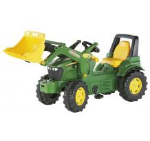 710027 - Tractor cu pedale Rolly Toys, John Deere 7930 cu incarcator frontal