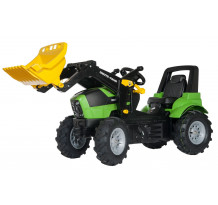 710133 - Tractor cu pedale Rolly Toys, Deutz Agrotron 7250 TTV, anvelope pneumatice