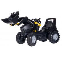 710348 - Tractor cu pedale Rolly Toys, Deutz-Fahr Agrotron cu incarcator frontal