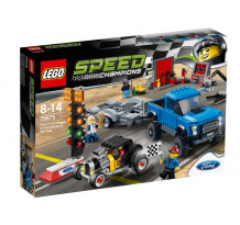 LEGO Speed Champions, Ford F-150 Raptor & Ford Model A Hot Rod 75875