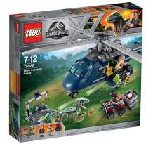 LEGO Jurassic World, Urmarirea lui Blue 75928