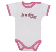 Body cu maneca scurta, Love Fruits /Basic