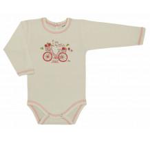 Body maneca lunga cu imprimeu de bicicleta /Basic
