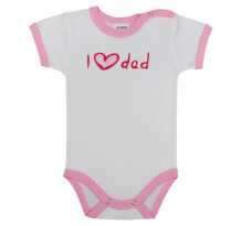 Body cu maneca scurta, I love dad, Basic
