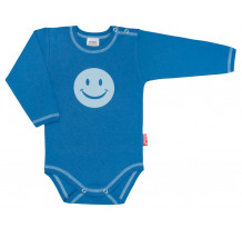 Body cu maneca lunga, smiley /PO4
