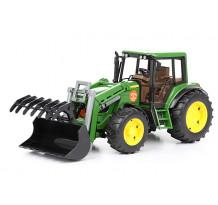Tractor John Deere 6920 cu incarcator frontal, Bruder