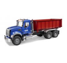 Camion Bruder 02822 MACK Granite cu container