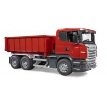 Camion Bruder 03522 Scania Seria R cu container