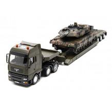 Camion MAN cu trailer si tanc metalic, Siku