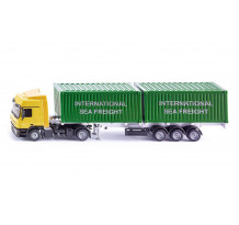 Camion Mercedes Actros containere, Siku 3921, 1:50