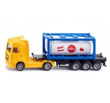 Camion Mercedes Benz Actros Tank Container, Siku 1:87