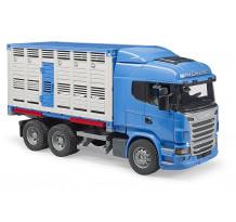 Camion Scania R-Serie transport bovine, Bruder