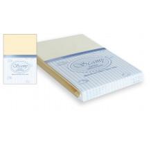 Cearsaf patut cu elastic, 60x120 cm / 70x140 cm, vanilie