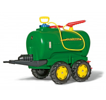 Cisterna Rolly Toys cu pompa de apa, seringa si robinet de scurgere
