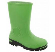 Cizme de cauciuc pentru copii, verde