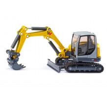 Excavator Wacker Neuson ET65, scara 1:50, Siku 3559