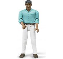 Figurina barbat cu camasa turcoaz Bruder bworld
