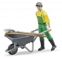 Figurina agricultor cu accesorii, Bruder 62610