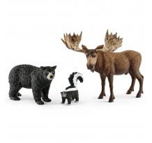 Figurina Schleich 41456, Locuitor nordic al padurilor din America