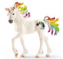 Figurina Schleich 70525, Manz unicorn curcubeu, cu strasuri