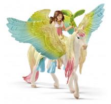 Figurina Schleich 70566, Surah cu Pegasus sclipitor