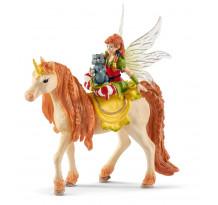 Figurina Schleich 70567, Marween cu Unicorn sclipitor