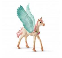 Figurina Schleich 70575, Unicorn Pegas impodobit, manz