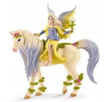 Figurina Schleich bayala 70565, Sera cu Unicorn