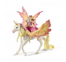 Figurina Schleich bayala 70568, Feya si Unicornul ei Pegasus