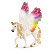 Figurina Schleich bayala 70576, Unicorn Curcubeu Curbat