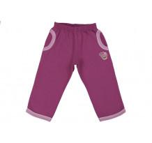 Pantaloni jogging LEO rosu ametist