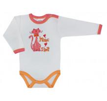 Body bebe cu maneca lunga pentru fete /Basic