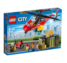 LEGO City, Unitatea de interventie de pompieri 60108