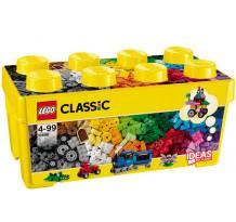 LEGO Classic, Cutie medie de constructie creativa 10696, 484 piese