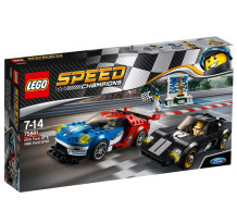 LEGO Speed Champions, 2016 Ford GT & 1966 Ford GT40, 75881