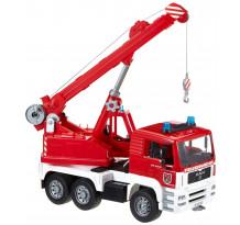 Camion de pompieri MAN cu macara, Bruder