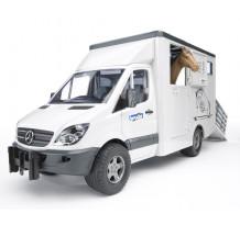 Masina Bruder 02533, Mercedes Sprinter transport cai
