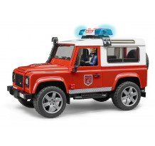 Masina de pompieri Land Rover Defender, Bruder 02596