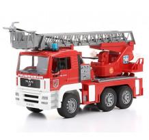 Masina de pompieri MAN cu scara si pompa de apa, Bruder 02771
