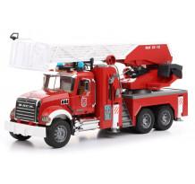 Masina de pompieri MACK Granite cu pompa de apa, Bruder 02821