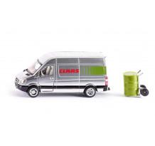 Microbuz Volkswagen, service Claas, Siku