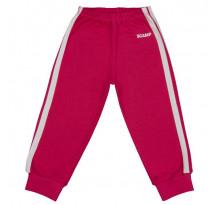 Pantaloni trening copii cu elastic in talie, rosu