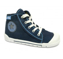 Pantofi tenisi baieti, din material textil, albastru, Star