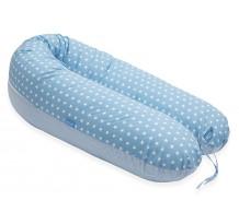 Perna Scamp 3 in 1 pentru gravide, alaptat, bebelusi, 160 cm, Cambridge Blue