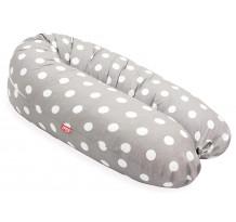 Perna Scamp 3 in 1 pentru gravide, alaptat, bebelusi, 150 cm, Gray Dots